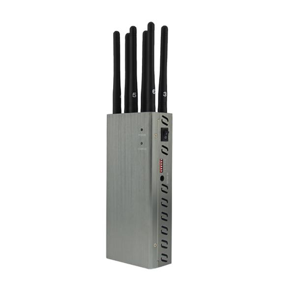 10 Bands UHF Blocker - Adjustable 3G Cell phone jammer