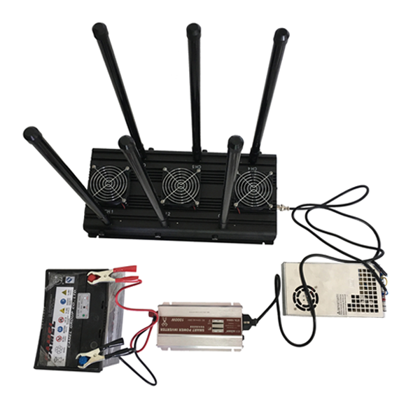 12v gps jammer - 4 Antenna 20W High Power 3G Cell phone & WiFi Jammer with Outer Detachable Power Supply