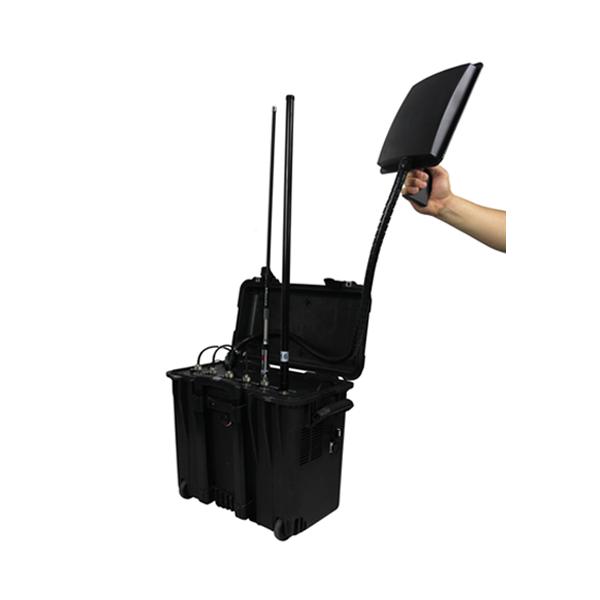 6 antenna gps cell phone wifi vhf uhf jammer - High Power UHF VHF Jammer